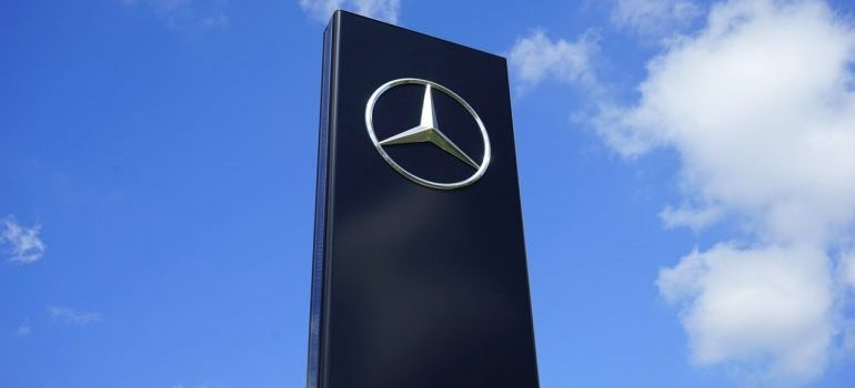 Mercedes Benz as an example of an effective logo design