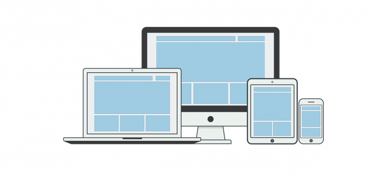 an image of various computer devices